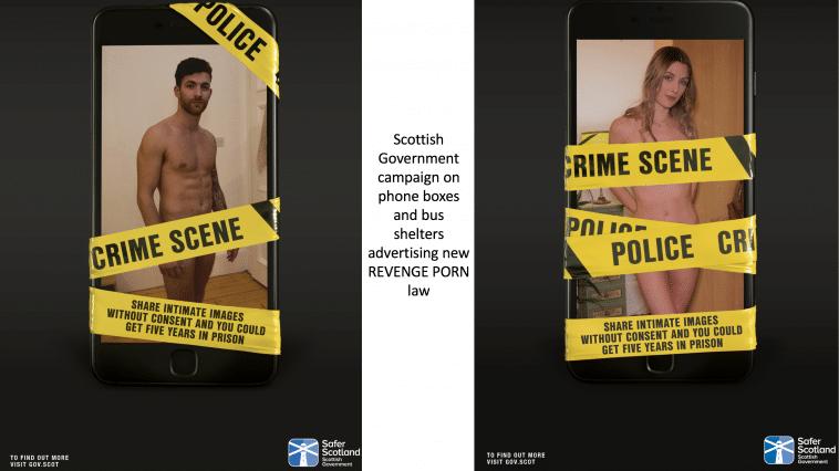 Scottish Government advertising campaign on Revenge Porn law