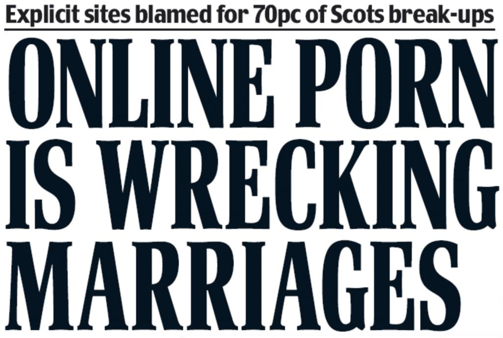 Headline Scottish Daily Mail