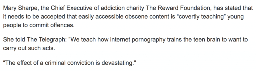 text 2 for Pornography to blame for child on child sex assault claims doubling, charity declares