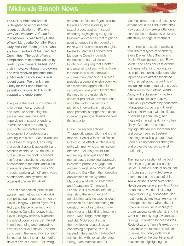 Steve Davies, Mary Sharpe and Dan Wilcox flow model internet sex offenders