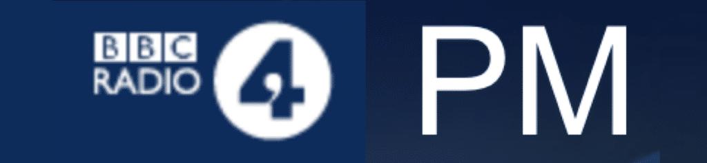 Logo Radio 4 PM 1 April 2019