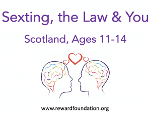 Sexting, the Law & You (Scotland) Ages 11-14